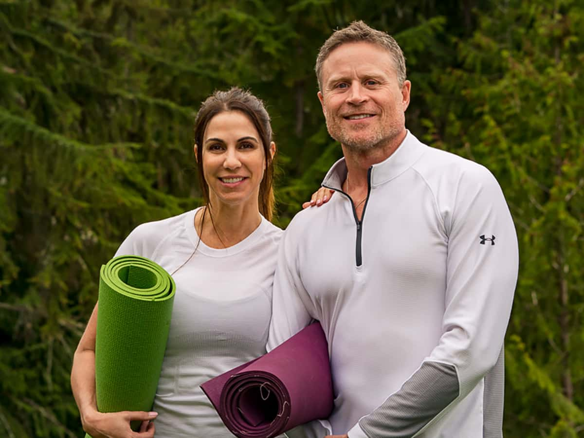 Tracey and Kimberly Eaton Yoga